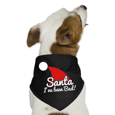 santa I've been bad NAUGHTY! Dog T-Shirts
