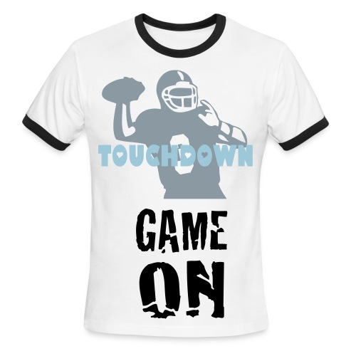 TOUCHDOWN - Men's Ringer T-Shirt