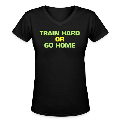 NO Excuses, Just CHANGE - Women's V-Neck T-Shirt