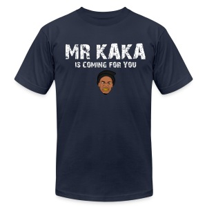 MR KAKA Cartoon - Men's T-Shirt by American Apparel