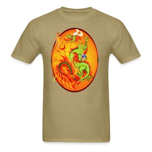 Year Of The Dragon and Symbol - Men's T-Shirt