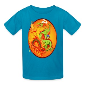 Year Of The Dragon and Symbol - Kids' T-Shirt