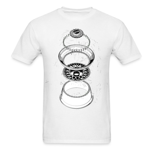 BBS RS BOOM TEE · by LOWISH - Men's T-Shirt