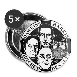 Four Horsemen Button - Small Buttons