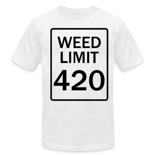 Weed Limit 420 Tee - Men's Fine Jersey T-Shirt
