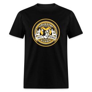 Mens GGG Boston Hockey #77 - Men's T-Shirt