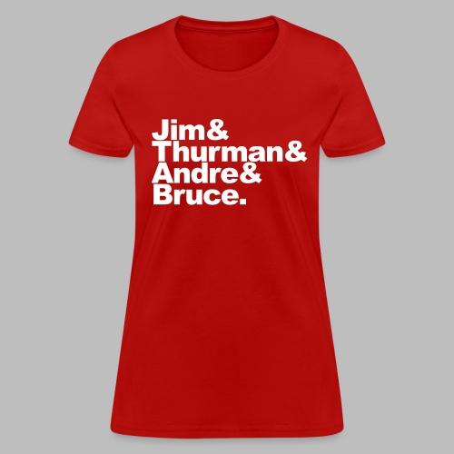 Fab Four -  - Women's T-Shirt