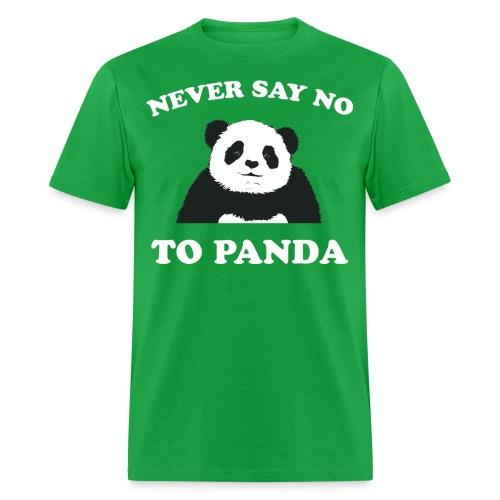 Never Say No - Men's T-Shirt