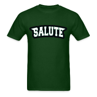 T-Shirts ~ Men's T-Shirt ~ Eagles - Salute Shirt
