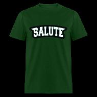 T-Shirts ~ Men's T-Shirt ~ Eagles - Salute Shirt