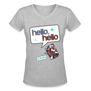 SHINee - Hello - Women's V-Neck T-Shirt