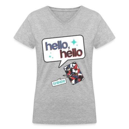 SHINee - Hello - Women's V-Neck T-Shirt