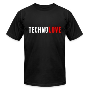 Technolove - Men's T - Men's T-Shirt by American Apparel