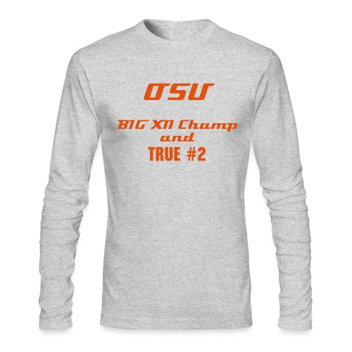 OSU the True #2 - Men's Long Sleeve T-Shirt by Next Level