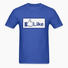 facebook like button T-Shirts