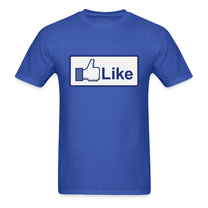 Facebook like button t shirt spreadshirt for Selling t shirts on facebook