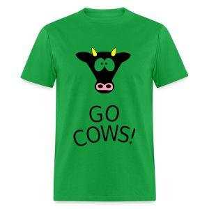 Go Cows! - Men's T-Shirt