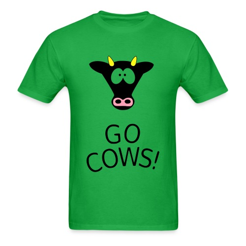 Go Cows! - Men's T-Shirt