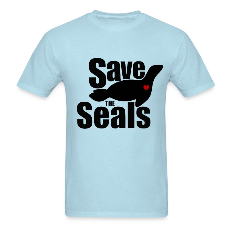 save the seals t shirt spreadshirt