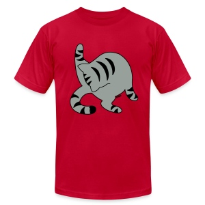 Grey Tabby - Men's T-Shirt by American Apparel