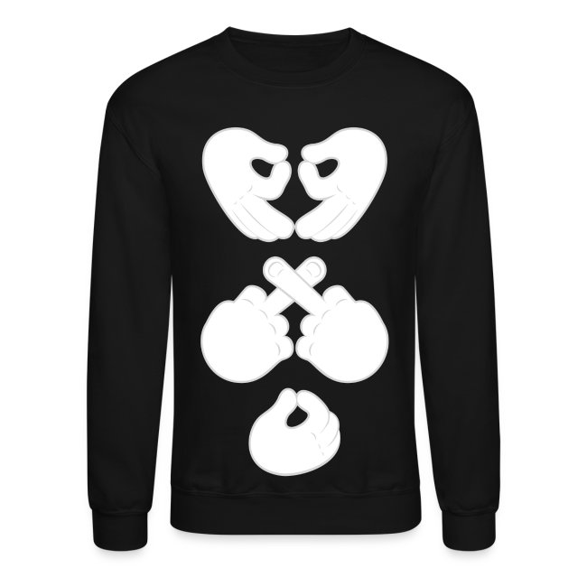 ea702f4f600fdc Octobers Very Own ✗♥O Hand Mens Crewneck