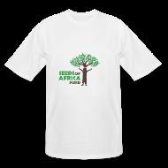 T-Shirts ~ Men's Tall T-Shirt ~ Changing Lives Through Education  T Shirt