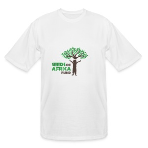 Changing Lives Through Education  T Shirt  - Men's Tall T-Shirt