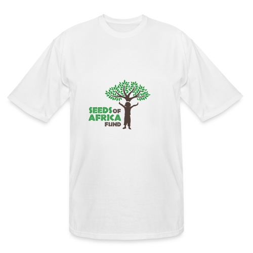 Changing Lives Through Education  T Shirt  - Men's Tall T-Shirt