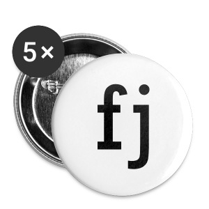 FJ Buttons Black - Small Buttons