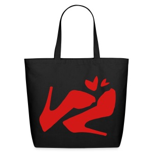 Sexy high heel shoes Eco-Friendly Cotton Tote - Eco-Friendly Cotton Tote