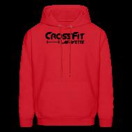 Hoodies ~ Men's Hoodie ~ CrossFit Lafayette - Red Hooded Sweat Shirt