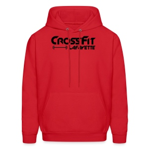 CrossFit Lafayette - Red Hooded Sweat Shirt - Men's Hoodie