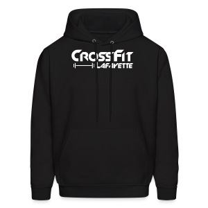 CrossFit Lafayette - Black Hooded Sweat Shirt - Men's Hoodie