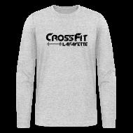 Long Sleeve Shirts ~ Men's Long Sleeve T-Shirt by Next Level ~ CrossFit Lafayette - Long sleeve