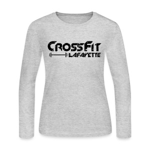 CrossFit Lafayette - Long sleeve  - Women's Long Sleeve Jersey T-Shirt