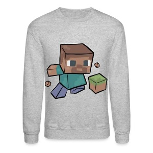 Steve - Mine craft - Crewneck Sweatshirt