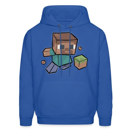 Steve - Mine craft - Men's Hoodie