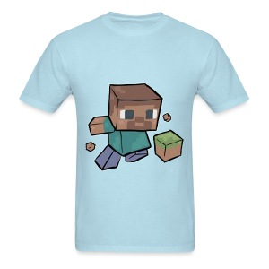 Steve - Mine craft - Men's T-Shirt