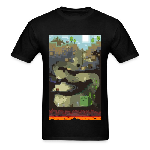 Dungeon - Mine craft - Men's T-Shirt
