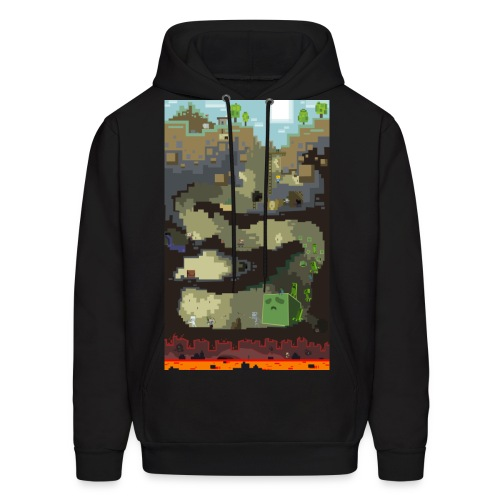 Dungeon - Mine craft - Men's Hoodie
