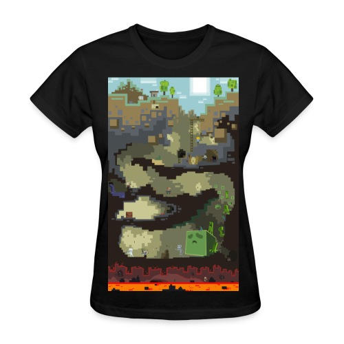 Dungeon - Mine craft - Women's T-Shirt