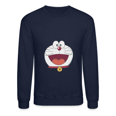 Doraemon Face Long Sleeve Shirts