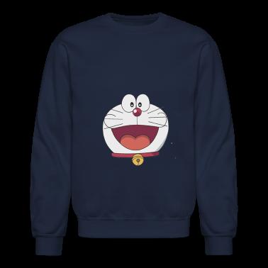 Doraemon Face Long Sleeve Shirts