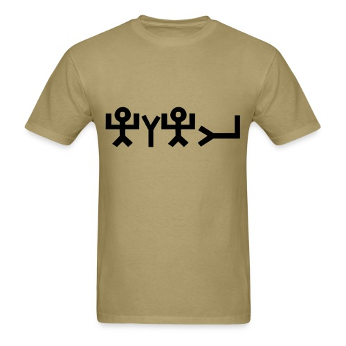 TRUE NAME EARLY SEMTITIC - SYMBOLS ONLY - Men's T-Shirt