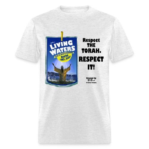 LIVING WATERS of YAHUSHUA (Flipped) - Men's T-Shirt