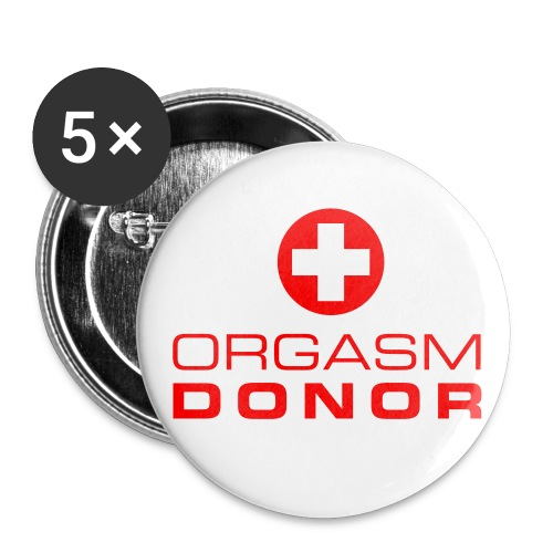 orgasm donor - Large Buttons