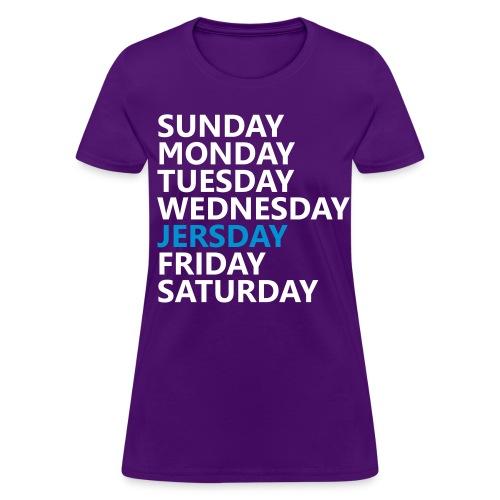 Jersday Jersey Shore Shirt - Women's - Women's T-Shirt
