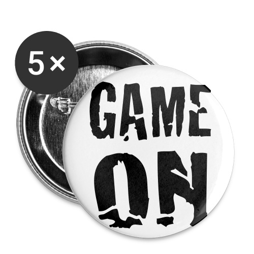 Game On Small Buttons - Buttons small 1'' (5-pack)