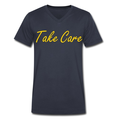 Take Care - Drake - Men's V-Neck T-Shirt by Canvas