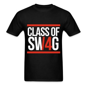 CLASS OF SWAG (14) Red with bands - Men's T-Shirt